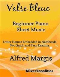 Cover Valse Bleue Easy Violin Sheet Music