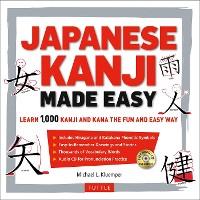 Cover Japanese Kanji Made Easy