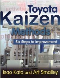 Cover Toyota Kaizen Methods