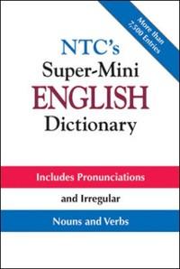 Cover NTC's Super-Mini English Dictionary