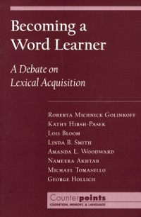 Cover Becoming a Word Learner