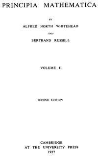 Cover Principia Mathematica (Volume II)