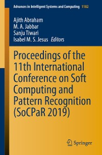 Cover Proceedings of the 11th International Conference on Soft Computing and Pattern Recognition (SoCPaR 2019)
