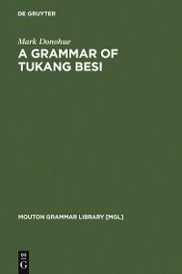 Cover A Grammar of Tukang Besi