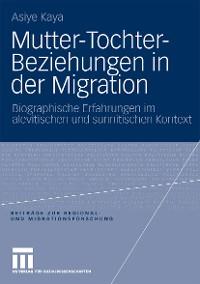 Cover Mutter-Tochter-Beziehungen in der Migration