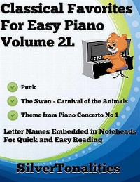 Cover Classical Favorites for Easy Piano Volume 2 L
