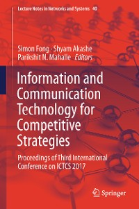 Cover Information and Communication Technology for Competitive Strategies