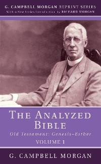 Cover The Analyzed Bible, Volume 1