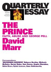 Cover Quarterly Essay 51 The Prince
