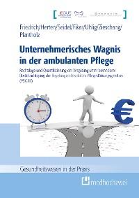 Cover Unternehmerisches Wagnis in der ambulanten Pflege