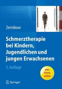 Cover Schmerztherapie bei Kindern, Jugendlichen und jungen Erwachsenen
