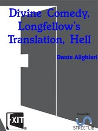 Cover Divine Comedy, Longfellow's Translation, Hell