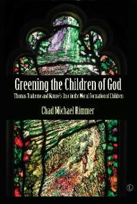 Cover Greening the Children of God