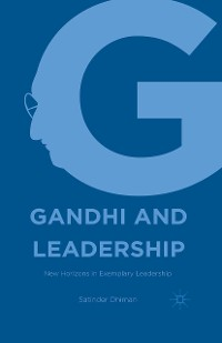 Cover Gandhi and Leadership