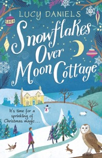 Cover Snowflakes over Moon Cottage