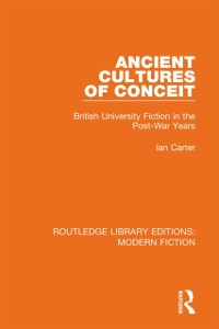 Cover Ancient Cultures of Conceit