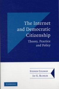 Cover Internet and Democratic Citizenship