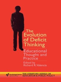 Cover Evolution of Deficit Thinking