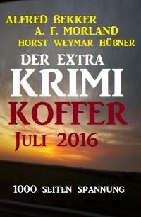 Cover Der Extra Krimi-Koffer Juli 2016