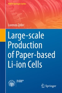 Cover Large-scale Production of Paper-based Li-ion Cells