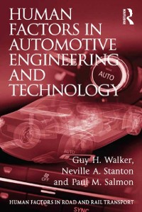 Cover Human Factors in Automotive Engineering and Technology