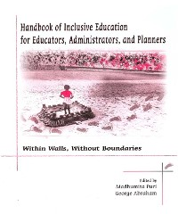 Cover Handbook of Inclusive Education for Educators, Administrators and Planners