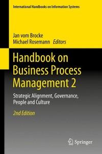 Cover Handbook on Business Process Management 2