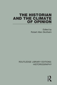 Cover Historian and the Climate of Opinion