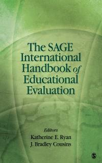 Cover The SAGE International Handbook of Educational Evaluation