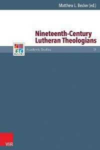 Cover Nineteenth-Century Lutheran Theologians