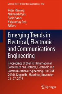 Cover Emerging Trends in Electrical, Electronic and Communications Engineering