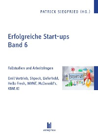 Cover Erfolgreiche Start-ups, Band 6