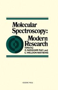 Cover Molecular Spectroscopy
