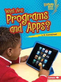 Cover What Are Programs and Apps?