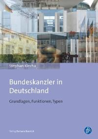 Cover Bundeskanzler in Deutschland