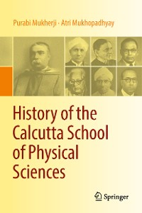 Cover History of the Calcutta School of Physical Sciences