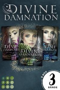 """Cover Divine Damnation: Sammelband der düster-romantischen Fantasy-Trilogie """"Divine Damnation"""""""