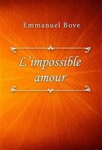 Cover L'impossible amour