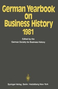 Cover German Yearbook on Business History 1981