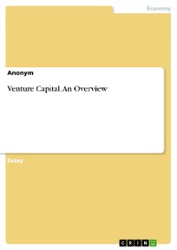 Cover Venture Capital. An Overview