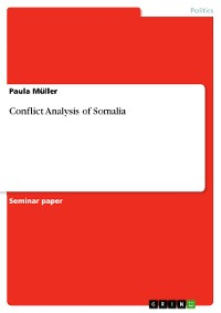 Cover Conflict Analysis of Somalia