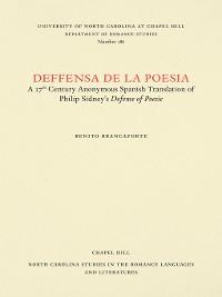 Cover Deffensa de la poesia