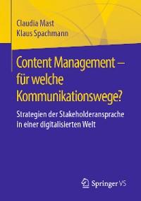 Cover Content Management – für welche Kommunikationswege?