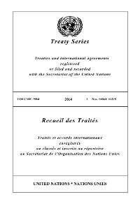 Cover Treaty Series 2984/Recueil des Traités 2984