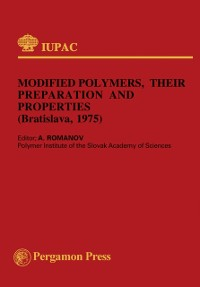 Cover Modified Polymers, Their Preparation and Properties