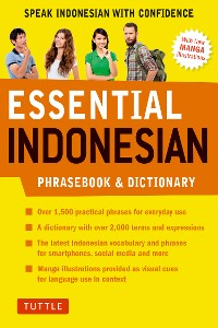 Cover Essential Indonesian Phrasebook & Dictionary
