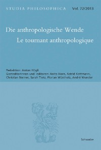 Cover Die anthropologische Wende - Le tournant anthropologique