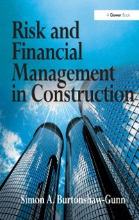 Cover Risk and Financial Management in Construction