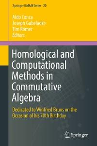 Cover Homological and Computational Methods in Commutative Algebra