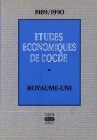 Cover Etudes economiques de l'OCDE : Royaume-Uni 1990